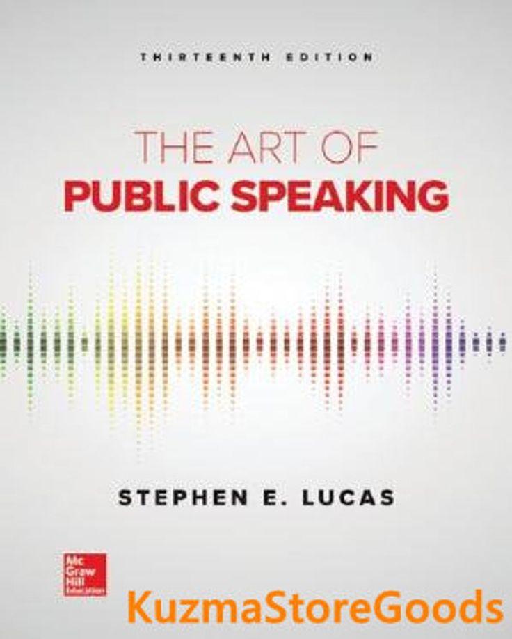 Park Art My WordPress Blog_The Art Of Public Speaking 13th Edition Free