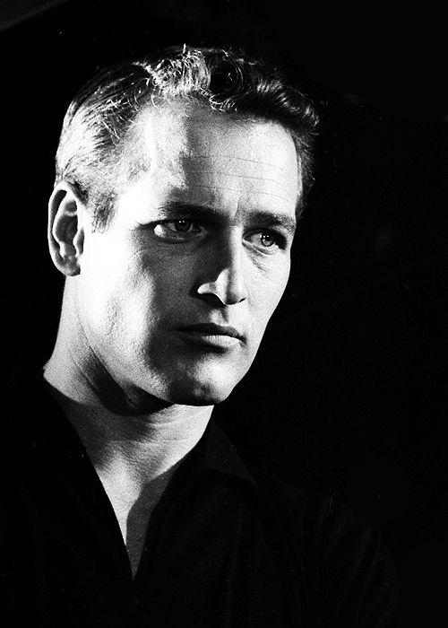 """"""" Paul Newman on the set of Paris Blues, 1960 """""""