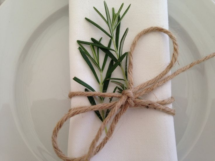 Simple but effective napkin idea