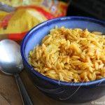 Spicy ptitim (Israeli couscous)