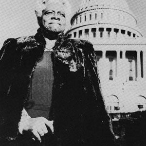 """Mary McLeod Bethune  1875 - 1955  EDUCATOR AND CIVIL RIGHTS LEADER  Founder of the National Council of Negro Women, she served as an adviser to FDR on his """"black cabinet"""" and promoted the education of African-American youth."""