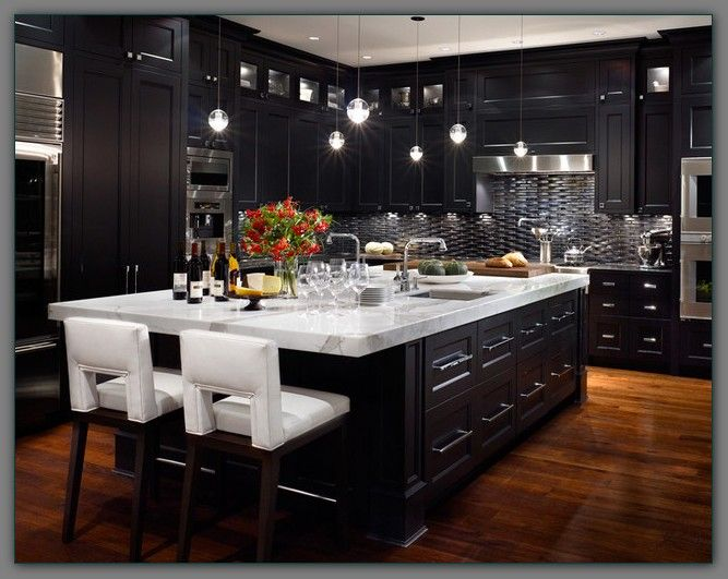 wood espresso kitchen cabinets