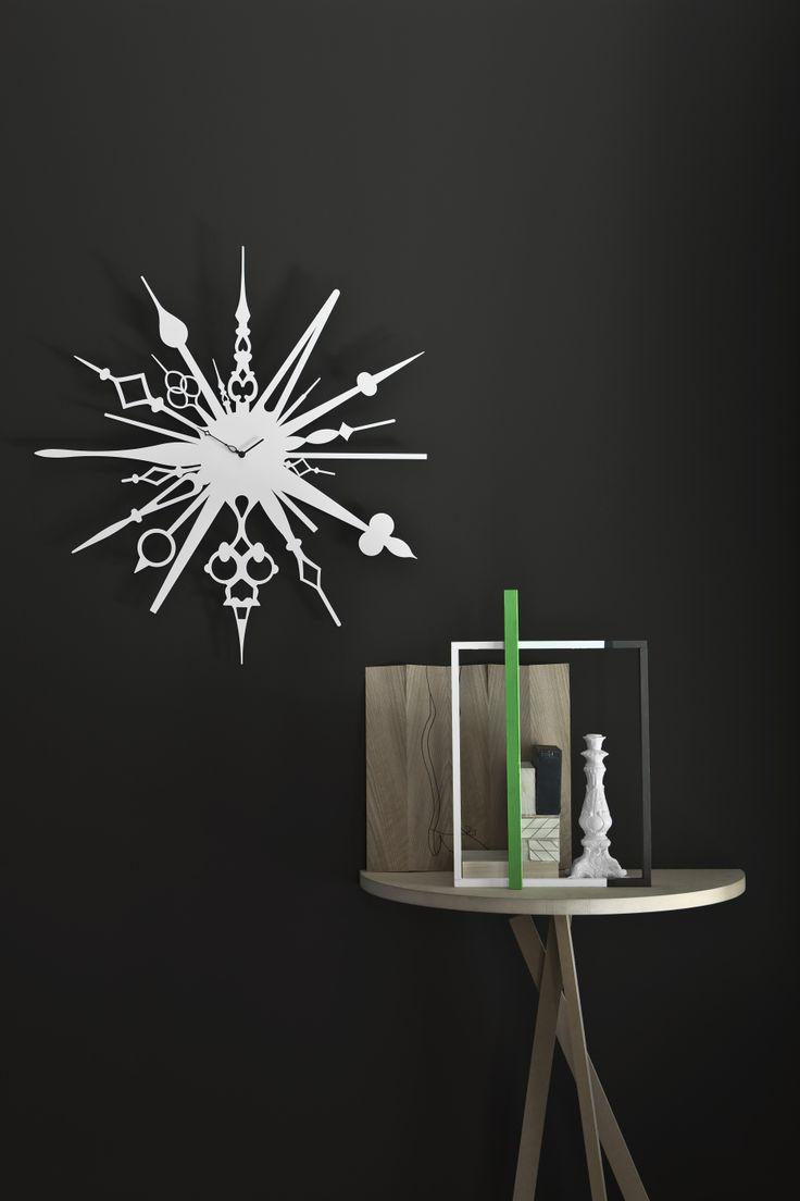 Diamantini&Domeniconi Millelancette Fabrica Design. #diamantinidomeniconi #madeinitaly #italiandesign #interiordesign #wallclock