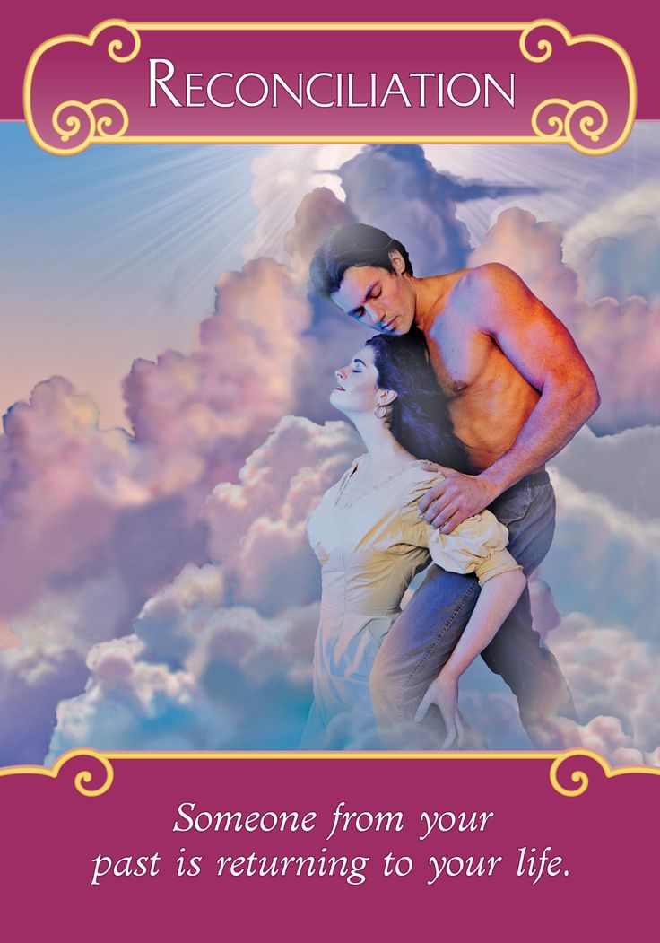 Oracle Card Reconciliation | Doreen Virtue | official Angel Therapy Web site