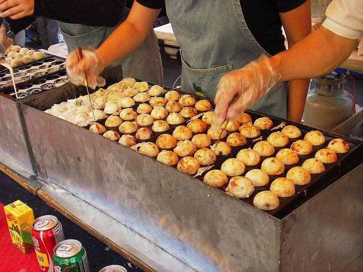 Takoyaki,aliment japonais... Alimentation et Japon