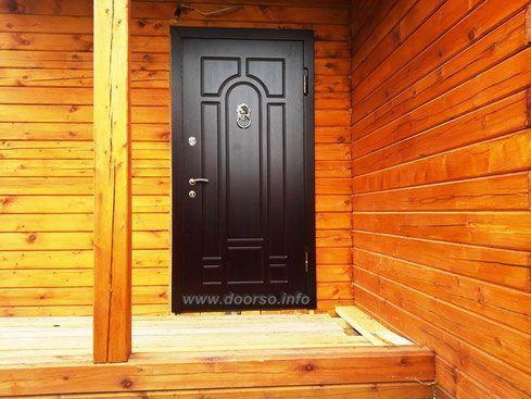 Металлические двери для дачи Истра.