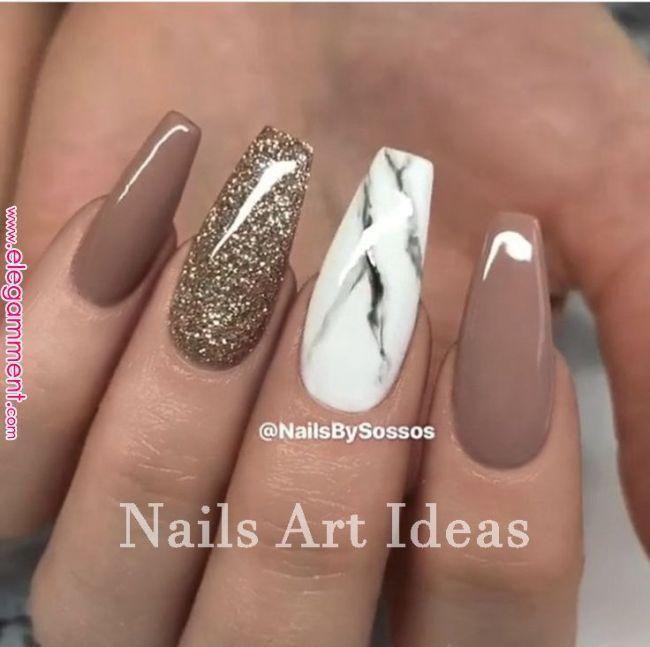 Fifteen elegant short nails & # 39; Designs 1 Fifteen Classy Short Nails & # 39; D - #shortnails