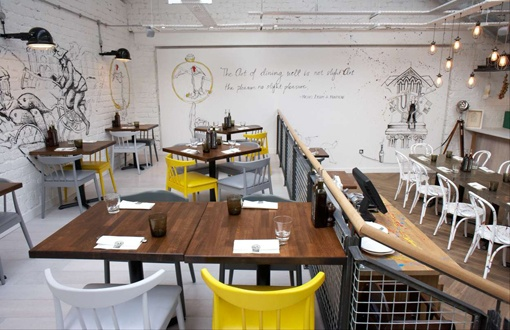 Zizzi glasgow by b3 designers restaurant interior design for Interior design agency glasgow