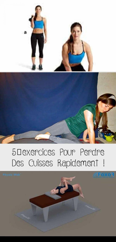 5 exercices Pour Perdre Des Cuisses Rapidement
