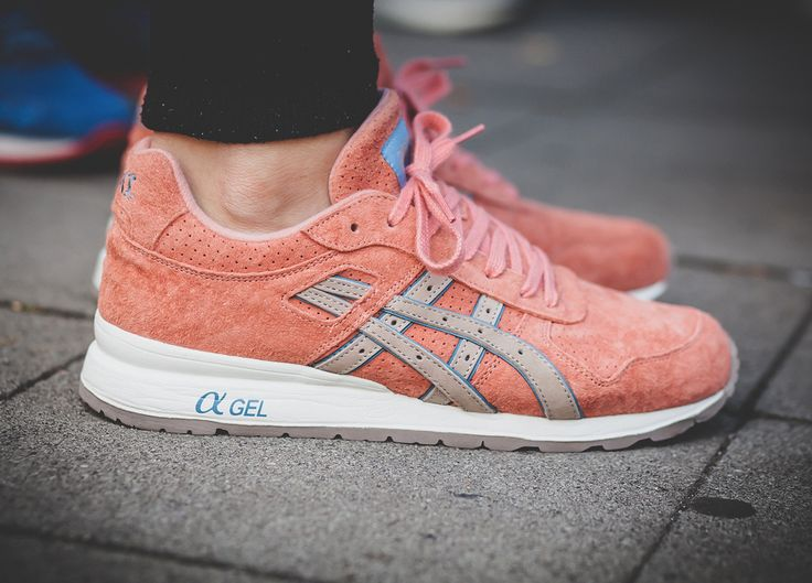 Ronnie Fieg x Asics GT II Rose Gold (by @afewstore)