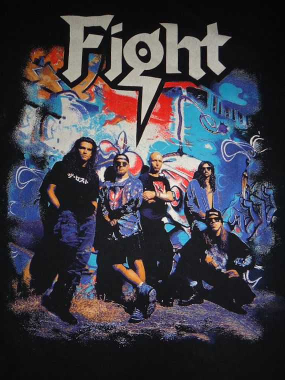 Check out this item in my Etsy shop https://www.etsy.com/listing/266100686/vintage-fight-1990s-t-shirt-heavy-trash
