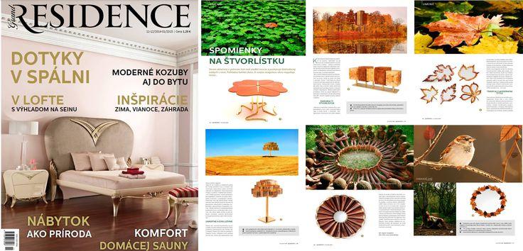 INSIDHERLAND by Joana Santos Barbosa at Grand Residence magazine from Slovakia, December 2014 | January 2015 issue. #INSIDHERLAND #beyondmemorycollection #luxury #bespoke