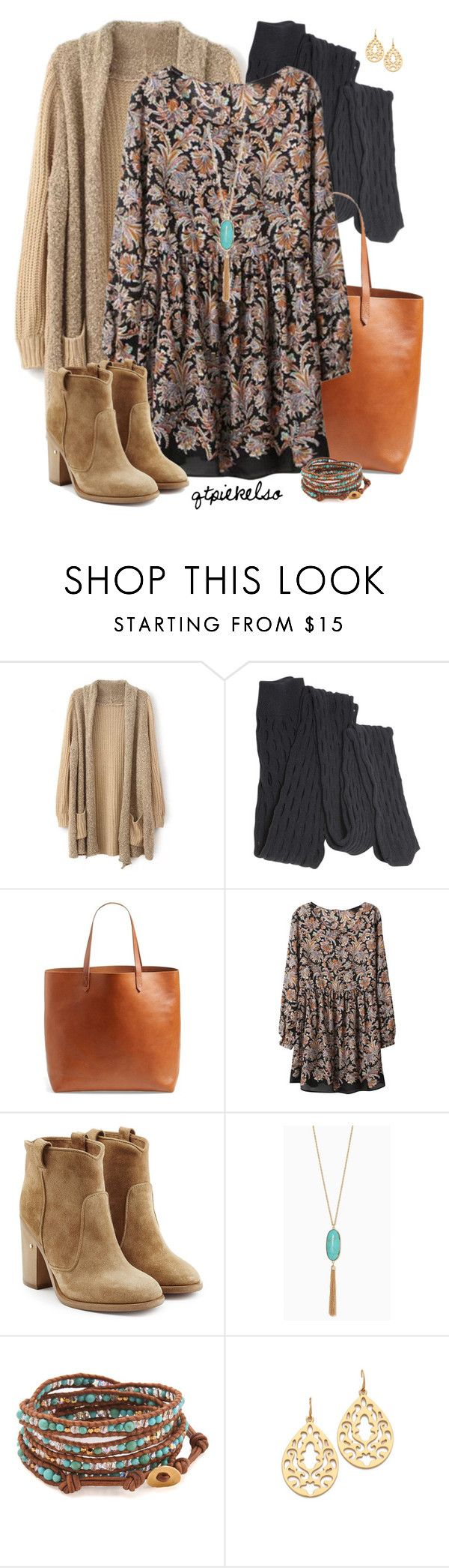 """Boho Booties"" by qtpiekelso ❤ liked on Polyvore featuring Proenza Schouler, Madewell, Laurence Dacade, Chan Luu and Juicy Couture"