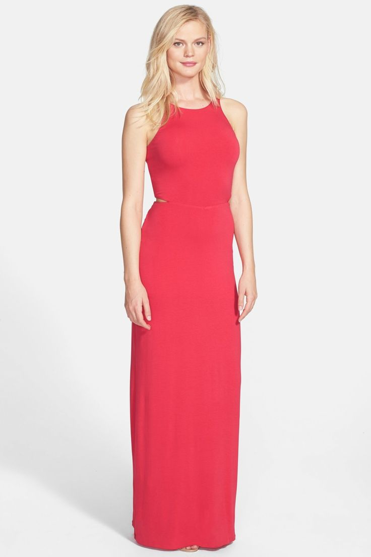 FELICITY & COCO Cutout Jersey Maxi Dress by Felicity and Coco on @nordstrom_rack