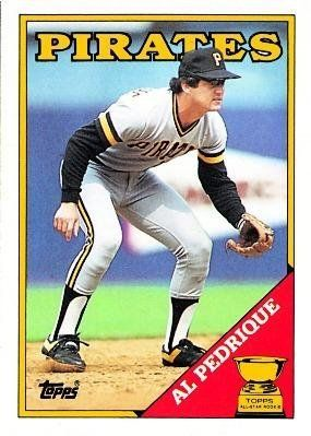 1988 Topps #294 Al Pedrique - Pittsburgh Pirates (Baseball Cards) by Topps. $0.88. 1988 Topps #294 Al Pedrique - Pittsburgh Pirates (Baseball Cards)