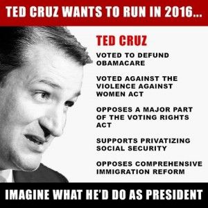 Can Ted Cruz Be President? Well, I for one have certainly come to respect and admire this man, he earned it.