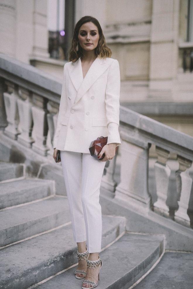 Olivia Palermo Style Thread Ii Moda Sacos Blancos Sacos