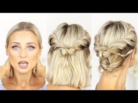 (158) Flat Hair - Everyday Hairstyles and Tips | OlesjasWorld - YouTube
