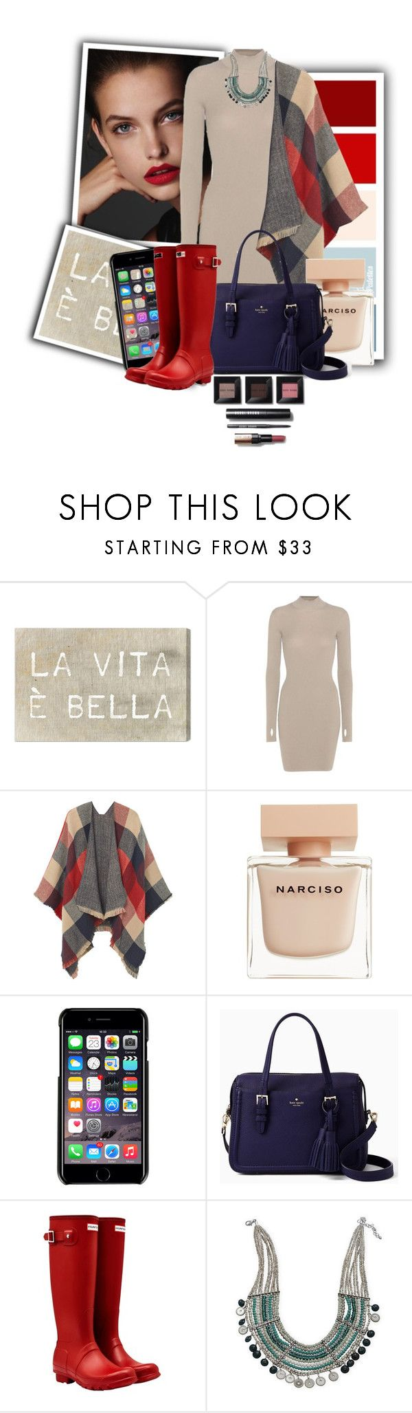 """""""Cardigan #2"""" by ellaa-h ❤ liked on Polyvore featuring Oliver Gal Artist Co., adidas Originals, MANGO, Narciso Rodriguez, Dolce&Gabbana, Kate Spade, Hunter, BillyTheTree and Bobbi Brown Cosmetics"""