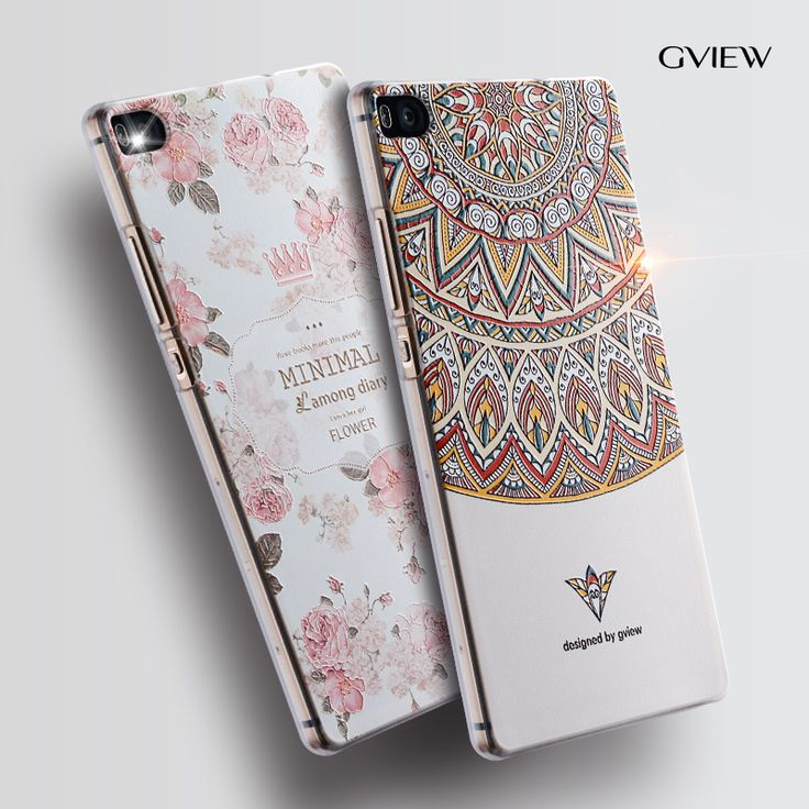 """Huawei p8 phone case Huawei p8 Relief cartoon image painting Silicone 5.2"""" back cover-in Phone Bags & Cases from Phones & Telecommunications on Aliexpress.com 