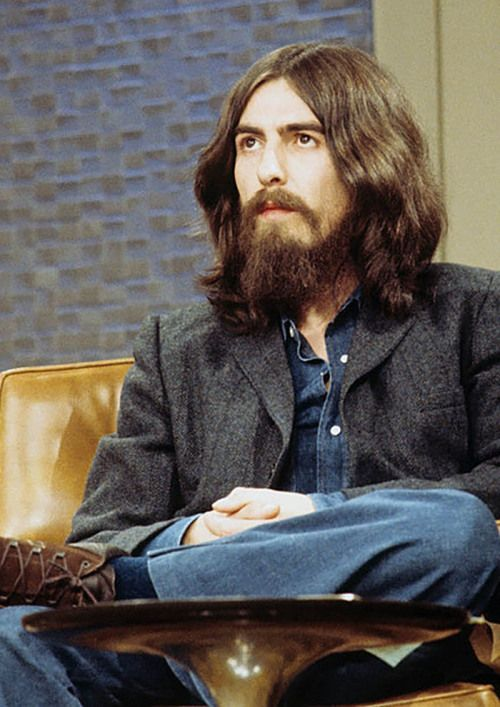 George Harrison on The Dick Cavett Show on ABC, aired November 23, 1971.