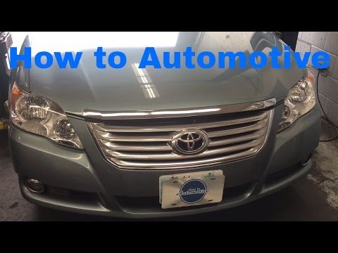 How to Replace the Passenger Side Inner CV Boot on a 2008 Toyota Avalon - YouTube