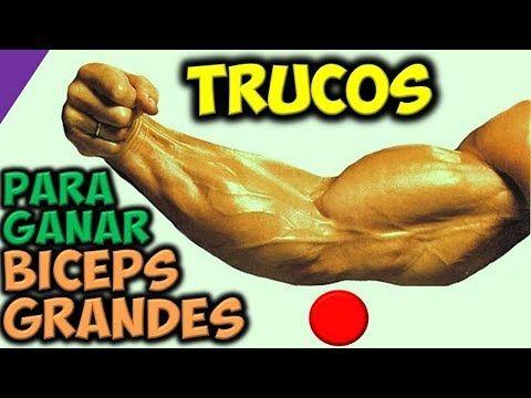 TRUCOS Para Desarrollar BICEPS GRANDES y FUERTES | Ganar Masa Muscular | en los Brazos!!! - YouTube
