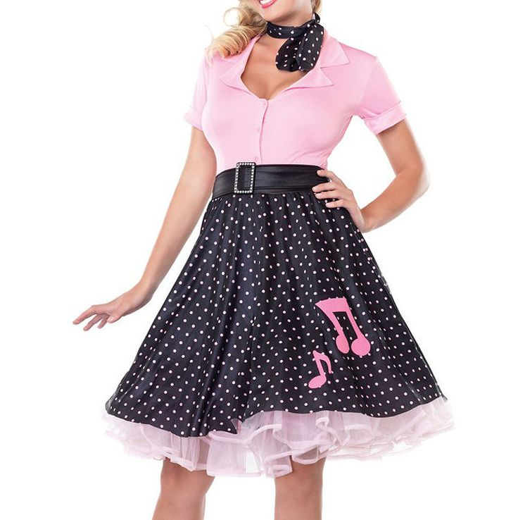 S L1000 Jpg 750 753 Grease Fancy Dress Pink Lady Costume Cheap Fancy Dress Costume