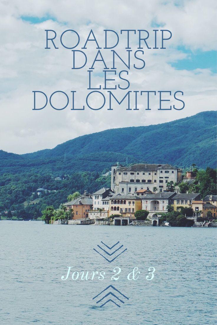 Voyage dans les Dolomites, traversée de la Lombardie et de la région des grands…