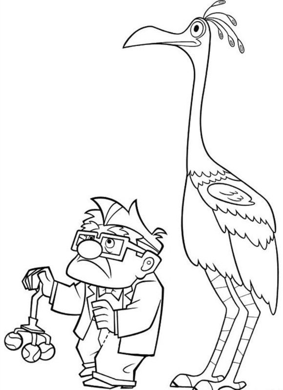 Picture Movie Up Coloring Pages