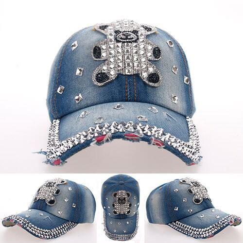 >> Click to Buy << Fashion sale Teddy Bear Point drill cowboy baseball cap casquette women snapback hip hop brand chapeau Cheap hat Drop shipping #Affiliate