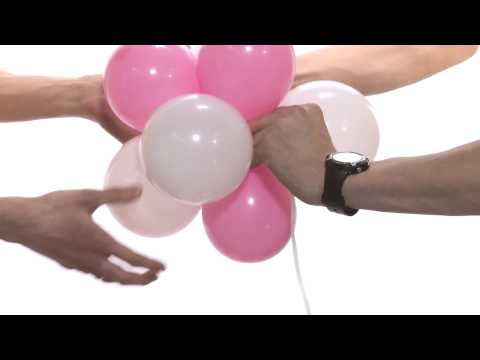 Гирлянда из шаров своими руками. Урок 5 - YouTube
