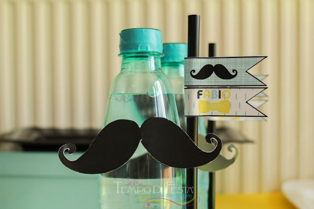 Tempo di Festa Blog: Little Man Party Mustache