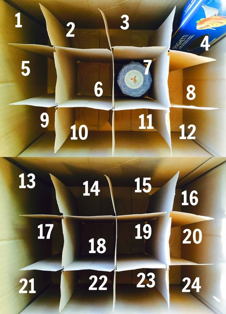 Awesome Idea! Totally doing this!! (via Julie Van Rosendaal Reverse advent calendar | Eat North) #RAOK #Giving