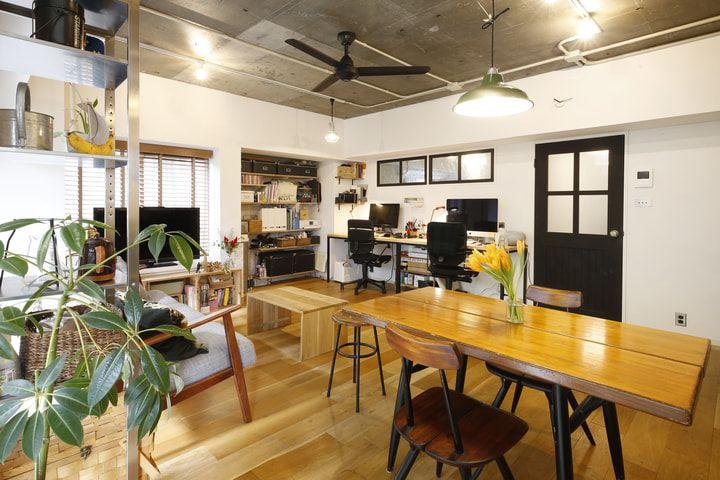 渋谷区内で庭付き マンションなのにdiyしやすい家 家