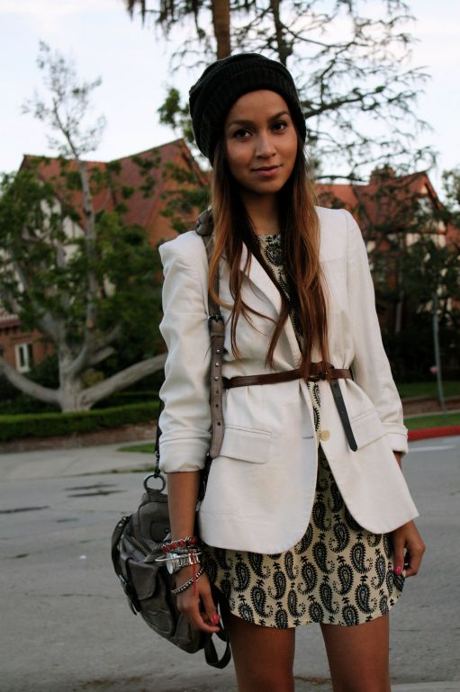 Belted blazers = IN... I really like... but am I too old for this look?