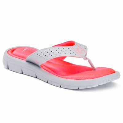 Nike Comfort Women's Flip-Flops - $19.99  Free Store Pickup @ Kohl's #LavaHot http://www.lavahotdeals.com/us/cheap/nike-comfort-womens-flip-flops-19-99-free/100648