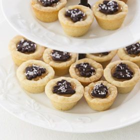 Salted Chocolate Caramel Tarts, a recipe from the ATCO Blue Flame Kitchen.
