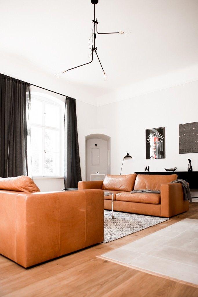 Loft Szczecub Living Room in Berlin | Remodelista