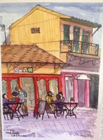 art, cmyk cafe, Lefkada