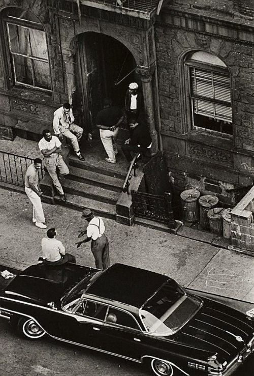 Harlem 1960 Photographer James Mitchell Source