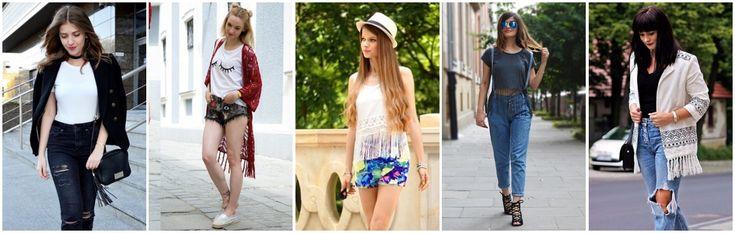 Hit na lato - ubrania i dodatki z frędzlami