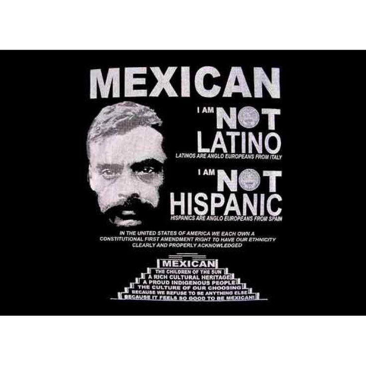 Mexican Not Latino T-Shirt. So Mexican Store. Funny Mexican t shirts for men women and children!