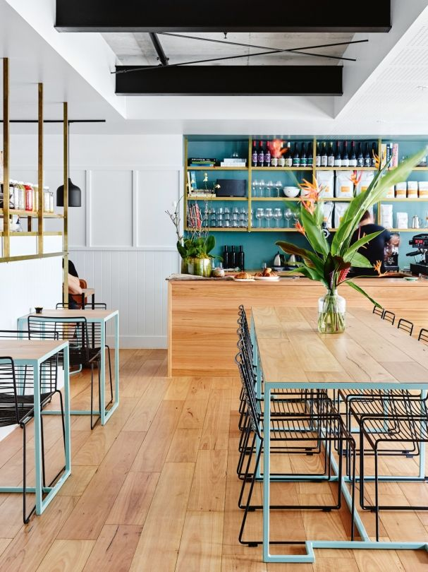 The bold interiors of new brisbane cafe gauge vogue