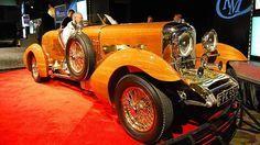 Долговечный деревянный автомобиль Lagonda Rapide Tulipwood Tourer от Bentley