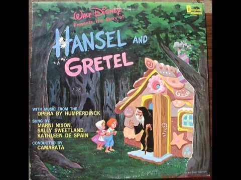 Walt Disney's Hansel & Gretel Record - YouTube