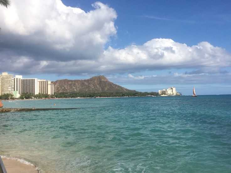 Diamond Head & Waikiki Beach, Hawaii