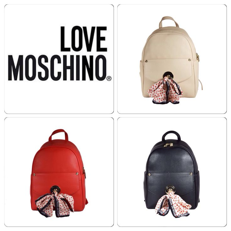 LOVE MOSCHINO! Find more colors at glammy.pt, instagram and facebook ☺️