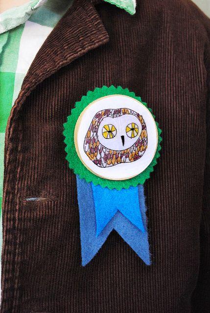 adorable printable for animal badges (found via @Mari (smallforbig.com)