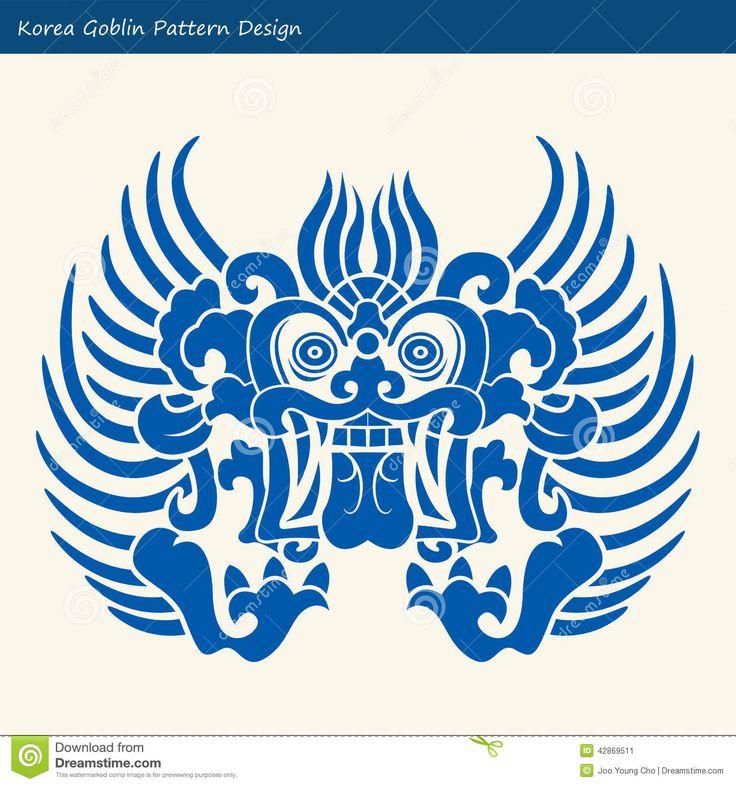 korea-goblin-pattern-design-korean-traditional-design-series-42869511.jpg (1300×1390)